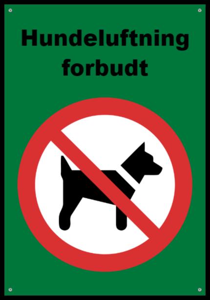 forbudsskilte som Aluminiumskilt
