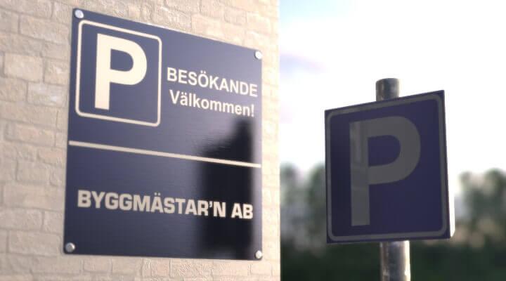 Parkeringsskilte